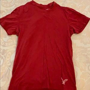 Dark Red American Eagle T-Shirt